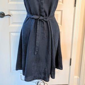 Banana Republic Dresses - Banana Republic Shirt Dress Dark Denim Size 8